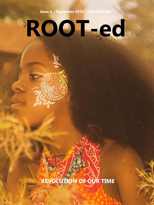 ROOT-ed Zine Issue 4 September 2018 Digital Copy