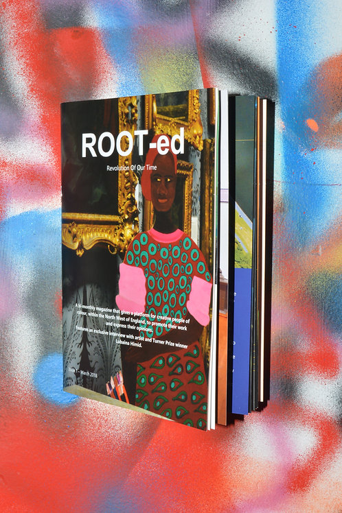 ROOT-ed Zine Issue 1 March 2018 - Digital Copy