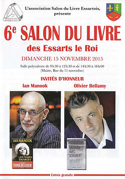 Salon du livre Les Essarts le Roi