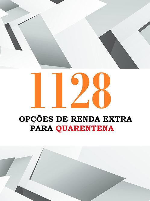1128 OPÇÕES PARA RENDA EXTRA NA QUARENTENA