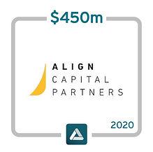 Align Capital II website - $450M 031220.