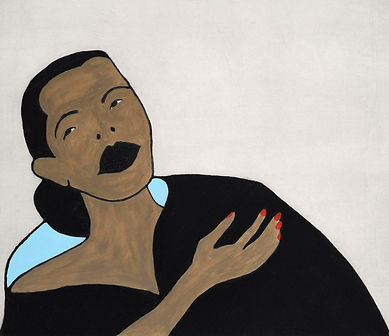 Billie Holiday print by Kate Boxer