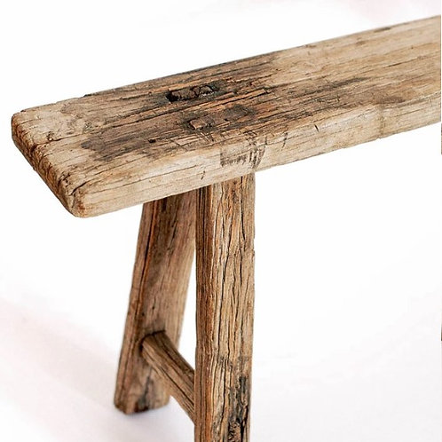 Rustic Elm wood benches