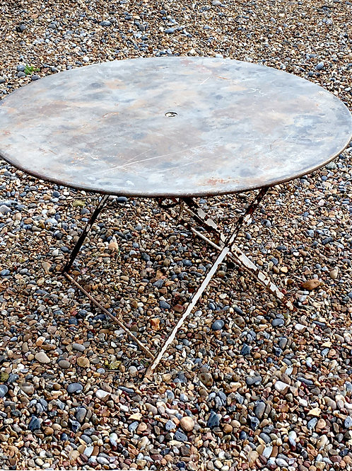 Foldable French garden table