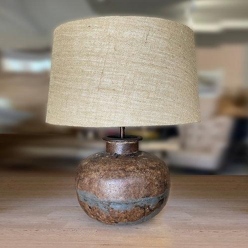 Vintage water carrier lamp