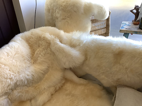 Natural sheepskins (from)
