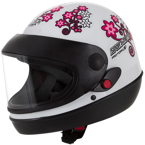 Capacete Sport Moto for Girls