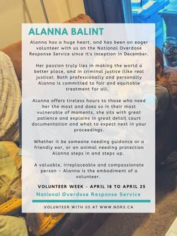 Alanna!