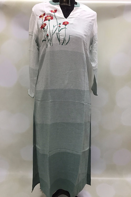 Ladies Kurta - Embroidered