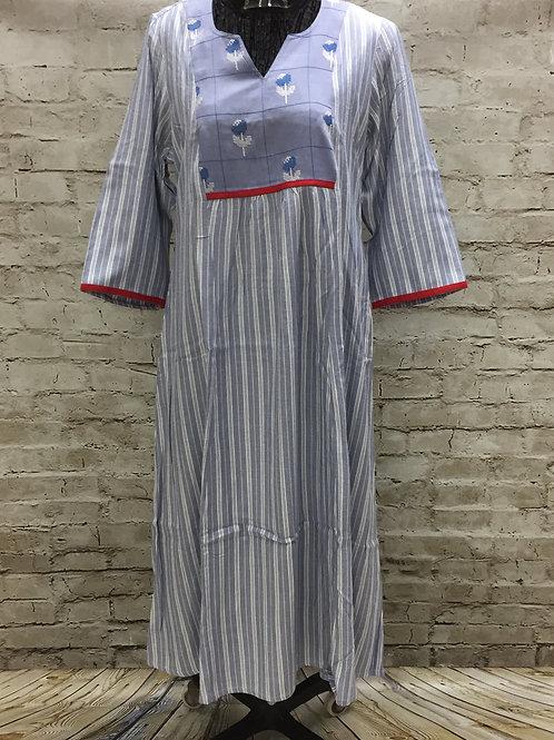 Ladies Kurti, Village Shop, Printed Kurti,Embroidered
