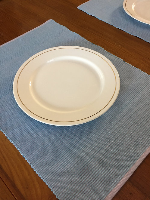 Reversible Table Mats -Blue/Pink -Set of 6