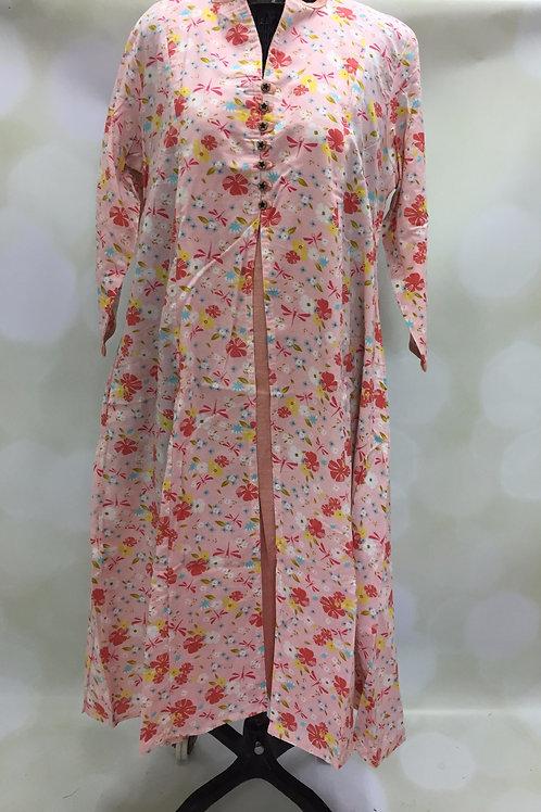 Ladies Kurta - Floral Print