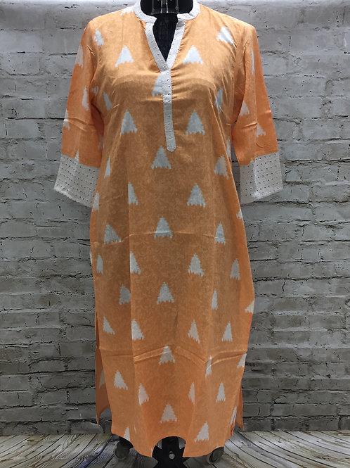 Kurti,Village Shop,Ladies printed hakoba kurti