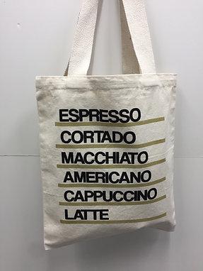 Canvas Tote Bag - Espresso