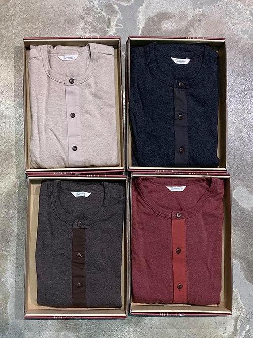 1927 Henley Shirt long sleeve Pike Brothers