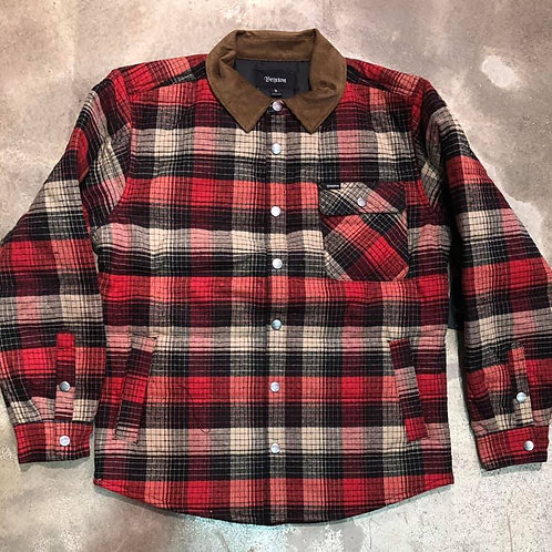 Cass Jacket Red/Black  Brixton