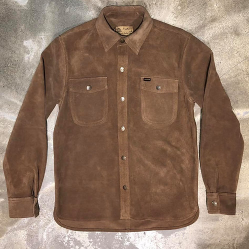 1943 CPO Shirt Mulholland brown Pike Brothers