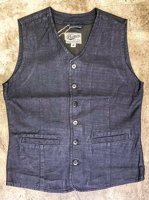 1905 Hauler Vest Steel Blue Pike Brothers
