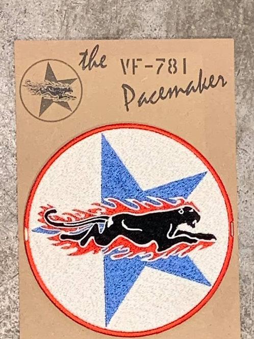 PATCH Us Navy VF781 12 CM