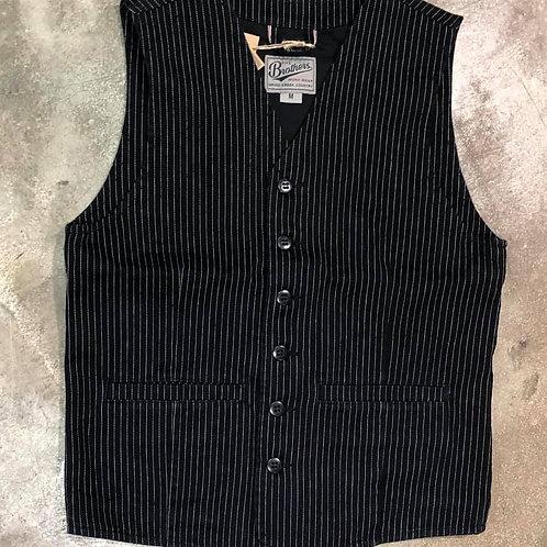 1905 Hauler Vest black wabash Pike Brothers