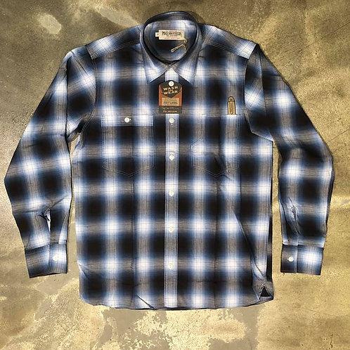 1937 Roamer Shirt Kangley Blue Pike Brothers