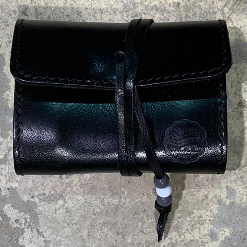 X Stach Pouch Leather