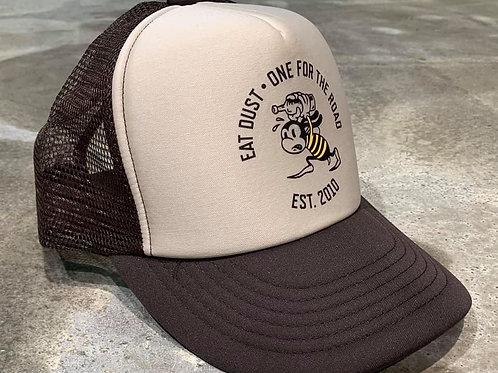 X Trucker Bee Carry Nylon Brown/Beige