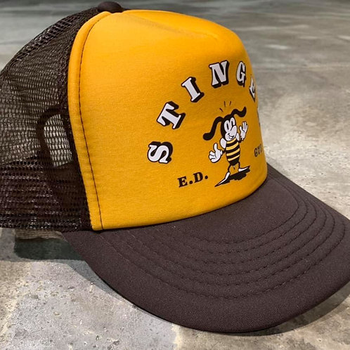 X Trucker Stinger Nylon Brown/Yellow