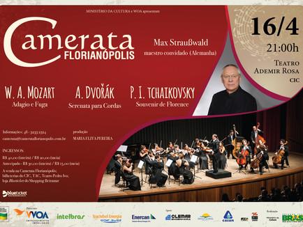 Mozart, Dvořák e Tchaikovsky