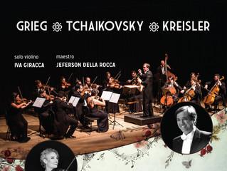 Grieg, Tchaikovsky e Kreisler