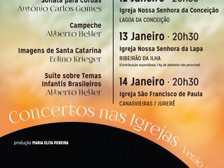 Concertos nas Igrejas - VERÃO 2017