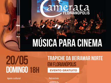 Música para Cinema na Beiramar