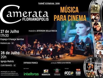 Turnê Estadual - Música para Cinema