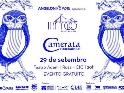 Camerata Florianópolis no Festival MCB