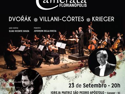 Concerto erudito em Gaspar - SC