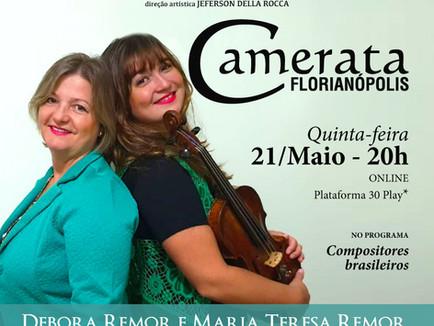 Recitais Virtuais - Debora Remor e Maria Teresa Remor