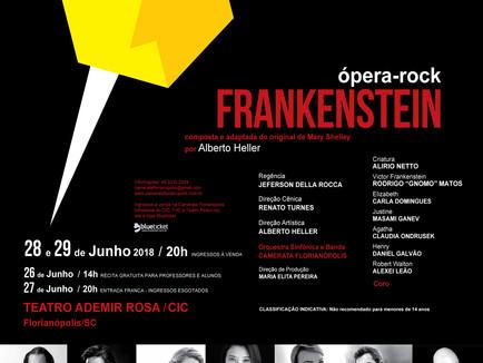 Ópera rock - FRANKENSTEIN