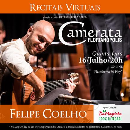 RECITAIS VIRTUAIS - Felipe Coelho