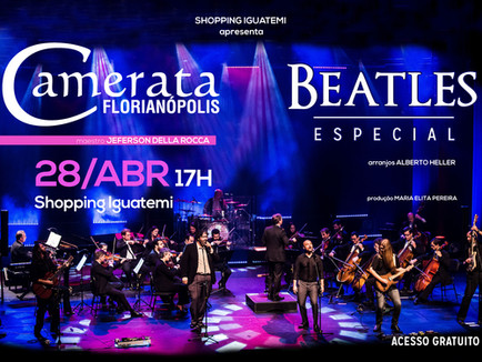 Especial Beatles no Shopping Iguatemi