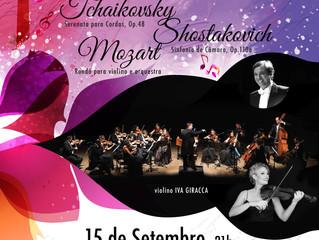 Tchaikovsky, Shostakovich, Mozart