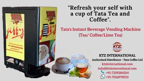 Tata Tea & Coffee Beverage Vending Machi