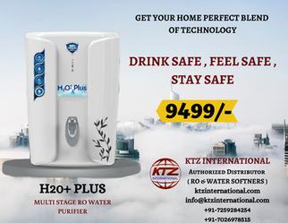 H2O+ PLUS - White Multi stage RO Purifie