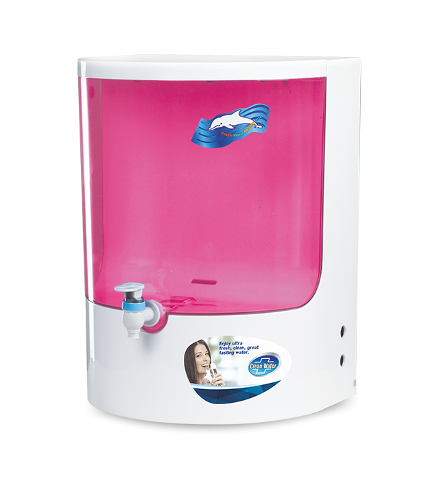 Clean water pink