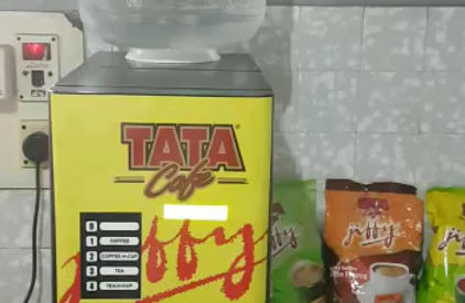 We are Authorized distributor for Tata coffee Ltd; We Supply Tata Tea , Coffee , Lemon Tea premixed . You can get full Tea for approx: Rs.3.50/- per cup & Half Tea / Coffee / Lemon tea @ Rs.2.50/- per cup ( as per Darshini Restaurant Std,)