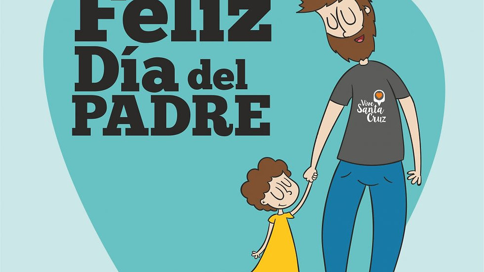 Diseño de campaña de piezas para dia el padre