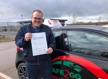 Another Pass with Sage2go Driving School