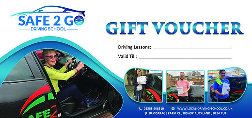 Safe2go Driving School Bishop Auckland driving lesson prices all driving abilities