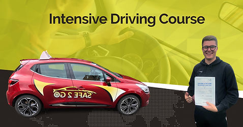 Intensive Driving course Bishop Auckland