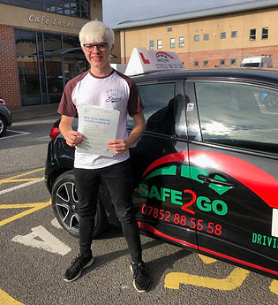 Safe2go driving school practical driving test pass 2019.jpeg