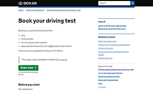 safe2go driving school Bishop Auckland c